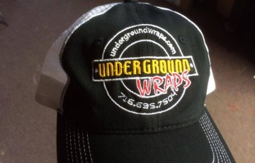 underground wraps embroidery