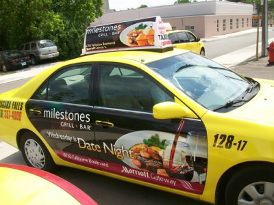 Taxi Door Ads Buffalo NY (2)