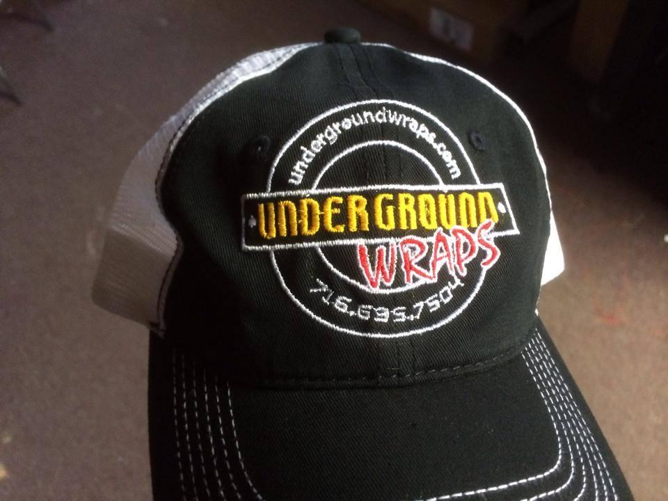 underground wraps embroidery
